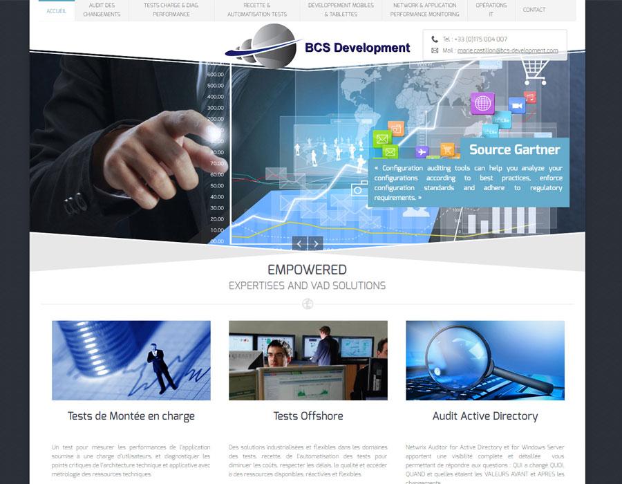 BCS Development, société de services I.T.