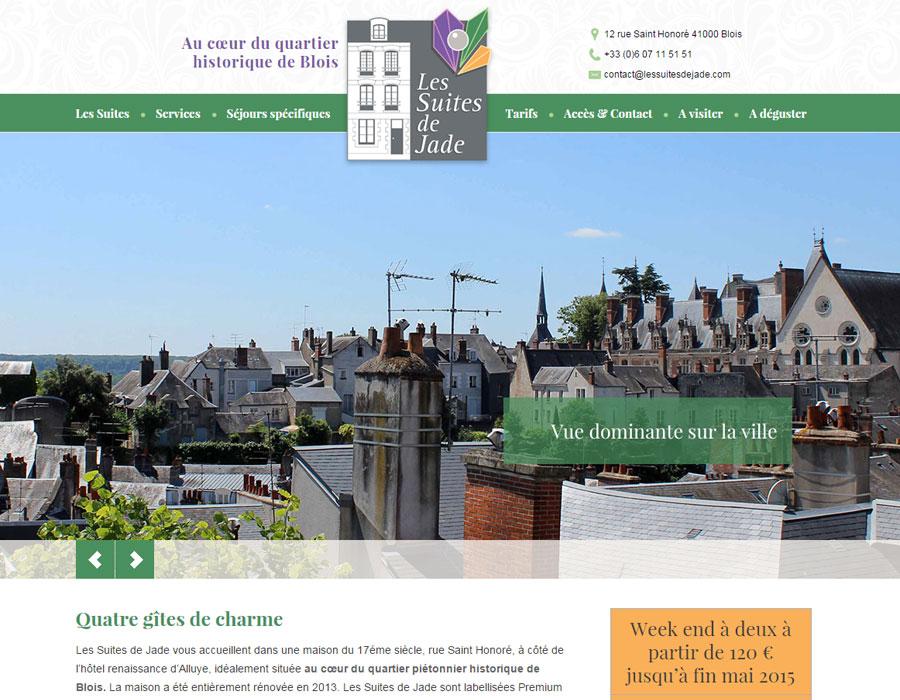 Chambres d'hôtes Suites de Jade au cœur du quartier historique de Blois